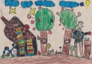 Élj környezetbarát módon! rajzpályázatra beküldött művek
